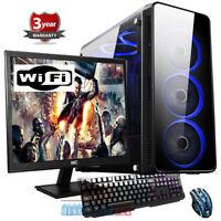 Intel Core I9-9900K 8 core Gaming PC Bundle,SSD 27''  Screen,RTX 2060 6gb, w92