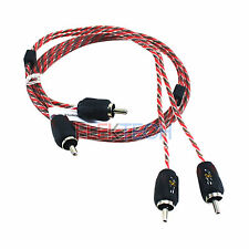 Stinger SI423 RCA Interconnect Audio Cable 2 Channels 3 ft 4000 Series Stereo