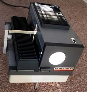 VINTAGE ALDIS SN12  SLIDE PROJECTOR WORKING LAMP A1/186 Atlas 12v 100w Bulb