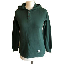 Oshkosh Green Women's Hoodie Top Long Sleeve UK 12