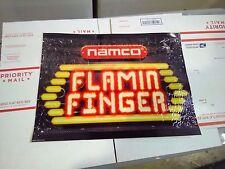 flamin finger arcade marquee #1