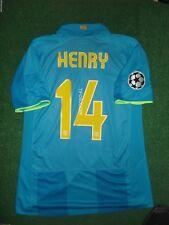 Henry Barcelona 2008 Champions League Match Unworn Shirt