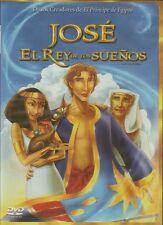 Jose El Rey De Los Suenos DVD Pelicula Cristiana Infantil Animada Para Ninos NEW
