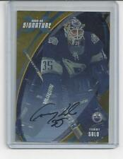 2002/03 Be A Player X  Signature Series GOLD Tommy Salo Auto - Vault