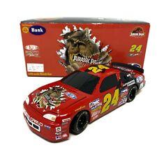 Jeff Gordon No. 24 DuPont Jurassic Park 1997 Monte Carlo 1:24 Die Cast Car BANK