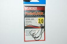 owner twistlock hook 5132-121 black chrome 2/0 centering pin spring