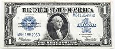 $1.00 Silver Certificate Series 1923 Horse Blanket Very Fine Folded