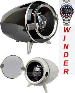 Luxury Display Single Automatic Watch Winder model: XOR-1WHT