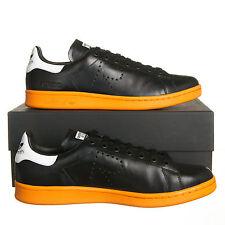 Adidas X Raf Simons Stan Smith Black Orange Mens 9 Sneakers (BB2647)