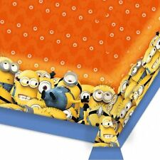 Despicable Me Minions Plaster tablecover with orange table top