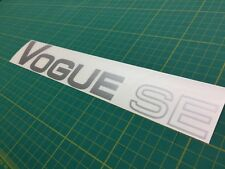 Range Rover Vogue SE Classic tailgate restoration decal sticker SE LSE mk 1