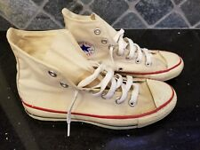 Vintage Converse All Star Chuck Taylor - White - 5 Men 7 Women - Usa Made