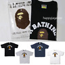 (S-3XL) A BATHING APE Men's COLLEGE TEE 4colors From Japan New