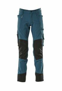 Mascot Advanced big & tall measured STRETCH men's work trousers kneepad pockets
