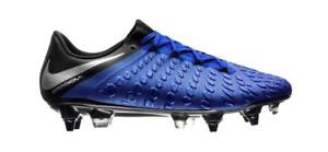 NIKE Hypervenom Phantom 3 Elite SG DF Soccer Cleat Blue AJ3810-401 Mn Sz 6.5 W 8