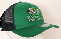 NEW Notre Dame Fighting Irish Zephyr Green Mesh Cap Snapback Hat Women's OS