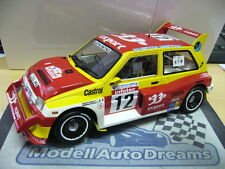 MG Austin Metro 6R4 Rallye Gr.B Auriol TdC Corse 1986 otto model RAR Resin 1:18