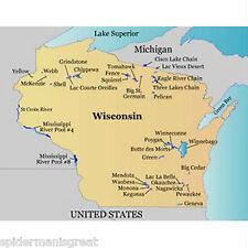 Garmin LakeMaster Wisconsin MicroSD Maps Data Card
