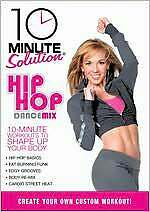 10 MINUTE SOLUTION - HIP HOP DANCE MIX DVD Workout Exercise Fitness