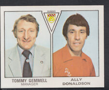 PANINI CALCIO 1980 Sticker N. 535-Tommy Gemmell/Donaldson-Dundee (S239)