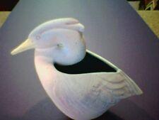 Ceramic Animal egret or herron vessle/vase