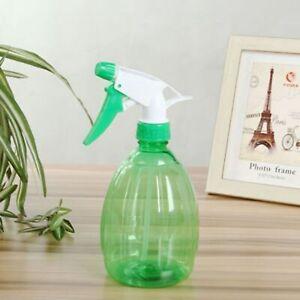 1x 500ml Plastic Empty Water Spray Bottle Plants Watering Cleaning Garden Tool