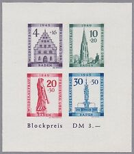 Baden Block Mi.Nr. 1 B postfrisch