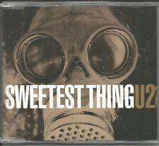 U2 Sweetest Thing MIX & 2 LIVE TRX Europe CD single SEALED USA seller 572464 u2