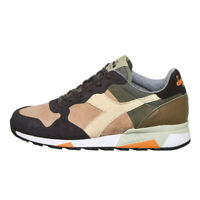 Diadora - Trident 90 Leather Made in Italy Dusty Green Sneaker Sportschuhe