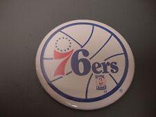 2 NOS Vintage Philadelphia Sixers 76ers Pinback buttons