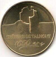 Monnaie de Paris - CHATEAU DE TALMONT - 1000 ANS 2020
