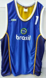 Mens AND1 Collection Brasil Basketball Tank Top Sleeveless Large Jersey Size 2XL