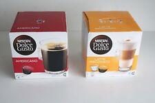 Latte Macchiato (8) and Americano (16) Pods to suit Dolce Gusto Coffee Machine