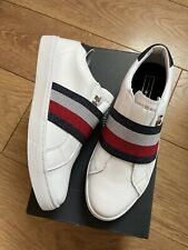 New Tommy Hilfiger Venus 30 A Womens White Trainers Shoes Size UK 3.5 EU 36