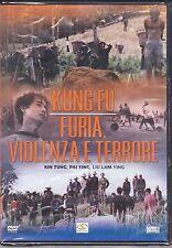 Dvd **KUNG FU ♦ FURIA VIOLENZA E TERRORE** nuovo 1972