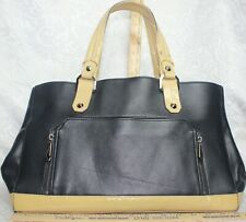 Henri Bendel Large Leather Tote Bag