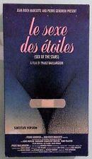 denis mercier LE SEXE DES ETOILES sex of the stars VHS VIDEOTAPE