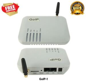 1 SIM GoIP VoIP GSM Gateway IMEI Changeable, SIP & H.323, VPN PPTP, SMS