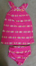 Summer pink dress Baby girl Juicy Couture set 12-18 m Exc. cond.