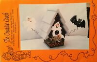 Vintage Tole Painting Pattern Wooden Bird House Halloween Instructions 1995