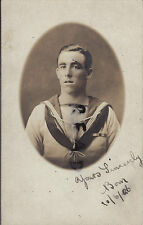 Leading Seaman  W. H. Wells HMS Constance 1926 West Indies warm weather whites