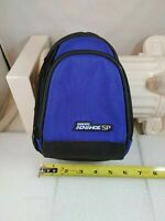 Gameboy Advance SP Blue/Black Carry Case Travel Bag Nintendo GBA Tote Large