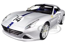 FERRARI CALIFORNIA T HOT ROD SILVER #14 70TH ANNIVERSARY 1:18 BY BBURAGO 76103