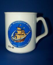 NASA Endeavour Coffee Mug Space Shuttle STS-49  Maiden Flight Cup 1992 Astronaut