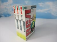 RCA T-120H Blank VHS Tape 6 Hour VCR Recording Video Cassette Sealed Lot of 3
