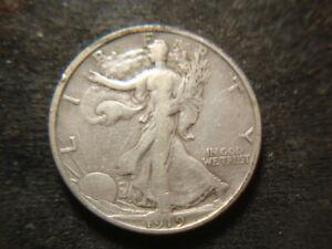 1919-S  VF Walking Liberty Half Dollar Nice Coin GSX