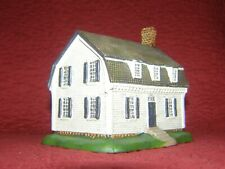 "Williamsburg: Ewing House 4"" X 4"" X 3 3/4"" by Lang & Wise 1998"
