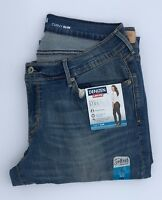 Denizen Levis Jeans Womens 14 S Blue Denim Curvy Slim Mid Rise Medium Wash