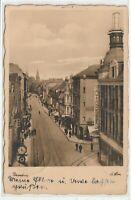 """Ansichtskarte Flensburg - """"Holm"""" - Mau & Andresen - Geschäfte - Straße - 1937"""