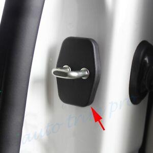 4pcs Auto Door Lock Cover Protector Shield Trim For Peugeot Citroen Accessories